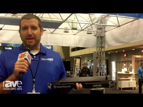 CEDIA 2015: AtlasIED Intros the New LAR150 Tool for Making Rack Mounting of Equipment Much Easier