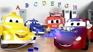 Baby Matt hasn't done his homework ! - Baby Cars in Car City ! - Cartoon for kids