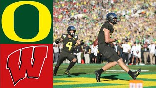 #6 Oregon vs #8 Wisconsin Rose Bowl Highlights | 2020 College Football Highlights