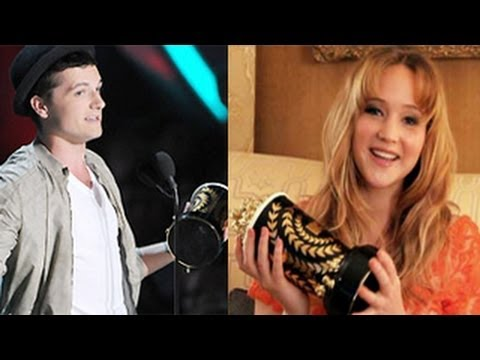 MTV Movie Awards 2014: Josh Hutcherson And Jennifer Lawrence Win Best Actors for The Hunger Games