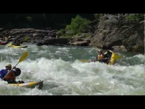 Lower Staircase Rapid - Summer Gauley River