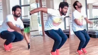 Naanum Gym Body Dhaan Moment of Vignesh ShivN!