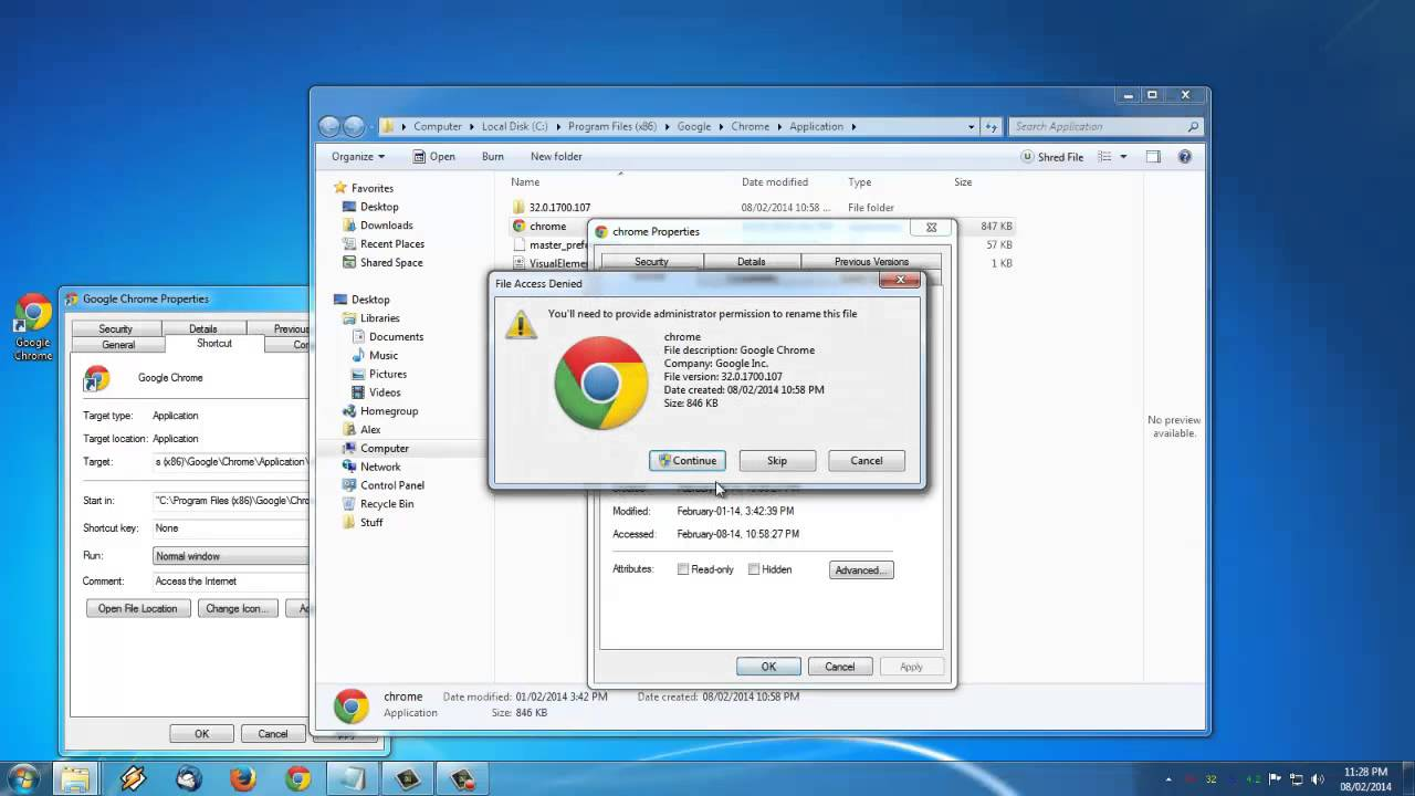 Easy fix google chrome not working windows 7 youtube