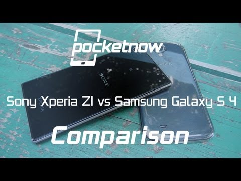 Sony Xperia Z1 vs Samsung Galaxy S 4