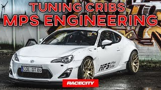 Subaru BRZ V8 LS3 Swap mit 500+ PS, GT86 Turbo - Tuning Cribs bei MPS Engineering