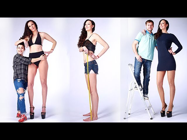 6ft 9in Woman Bids To Be World's Tallest Model