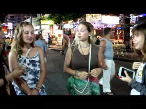 Interview at khao san road