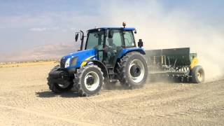 New Holland T5050 Buğday Ekiminde