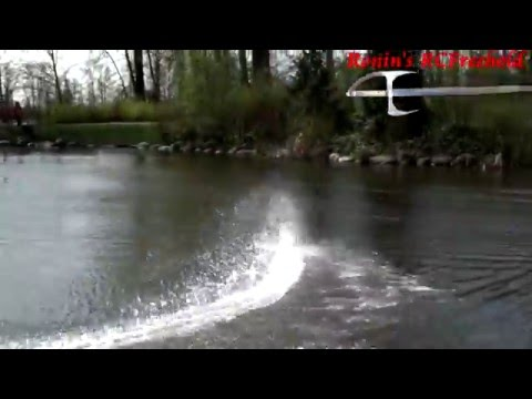 Awesome RC Boat vid with 60fps slo mo clips and huge rooster tails