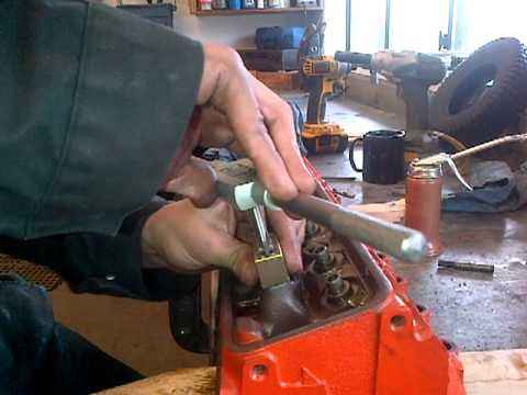SBC How to screw in rocker studs.