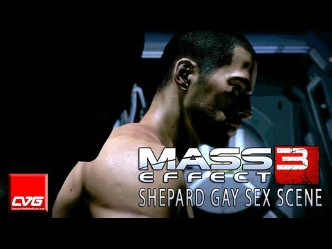 Mass Effect 3 - Shepard And Cortez Gay Sex Scene Hd video