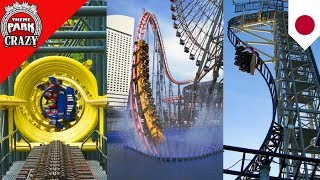 10 CRAZY Japanese Roller Coasters