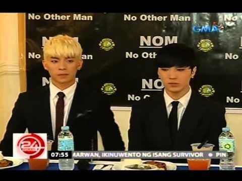 24 Oras: Korean boyband na N.O.M., magre-record daw ng isang OPM song
