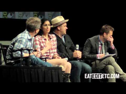 SDCC2012: Wreck-It-Ralph Panel (Rich Moore, Sarah Silverman And John C. Reilly)