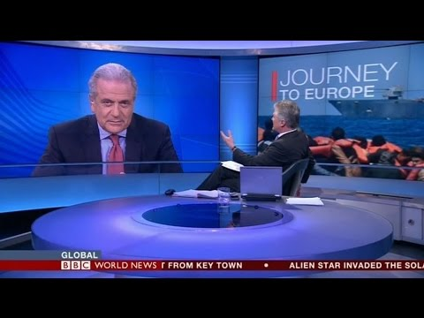 BBC World News Interview to the Commissioner D. Avramopoulos