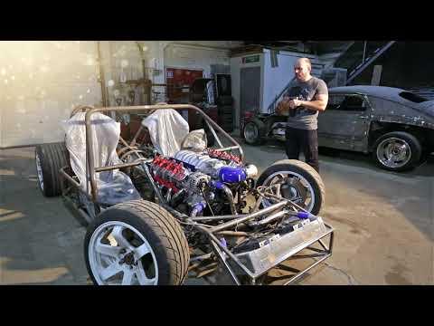 """Лёгкий Родстер V8 6.2 л. 500 л.с.: Небольшой обзор... от Кастом-Ателье """"КОЛЁСА ПОБЕДЫ"""""""