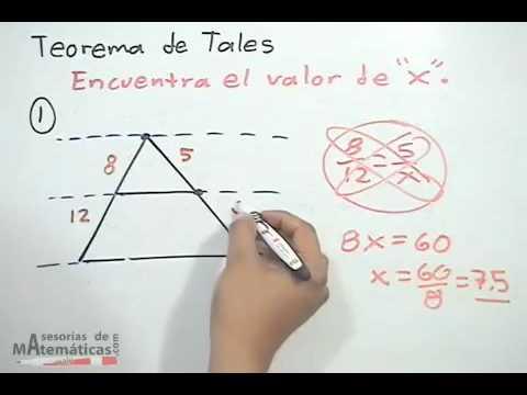 Teorema de Tales - PARTE 2