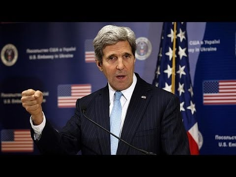 John Kerry asks Russia to disengage and negotiate in Ukraine