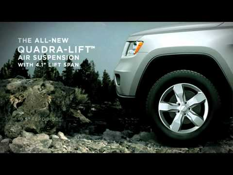 19 - Jeep. Grand Cherokee - Quadra-lift™ (deutsch german) video