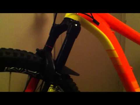 How to Fix a Scratched Mountain Bike Fork Stanchion