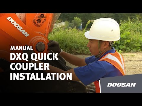 Doosan DXQ Quick Coupler Installation