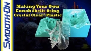 Aquarium Decoration Tutorial: Casting a Clear Conch Shell in Crystal Clear Resin