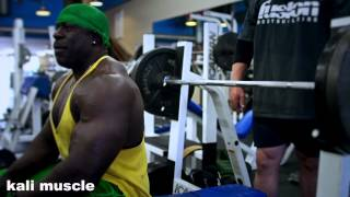 Kali Muscle - CRAZY CHEST TRAINING - (ft.Furious Pete, Big J)