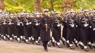 The Band of HM Royal Marines and  Royal Navy