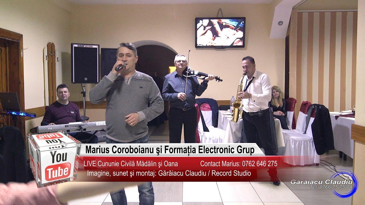 Marius Coroboianu si Electronic Grup   Colaj HORA LIVE   Madalin si Oana   Muzica de Petrecere