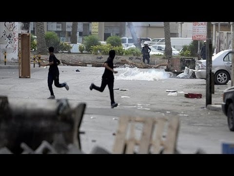 image vid�o مظاهرات عارمة في البحرين اعتراضا على سباق الفورمولا