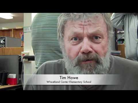 Tim Howe, Wheatland Center Elementary School