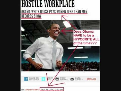 hypocrite obama on women s pay