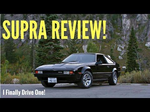TOYOTA SUPRA REVIEW - Second Generation Celica Supra.