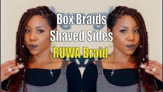 RUWA Braid Box Braids | Tutorial & Review | Divatress
