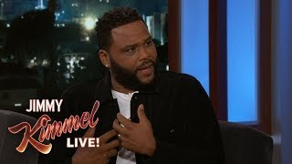 Anthony Anderson Embarrassed at World Series