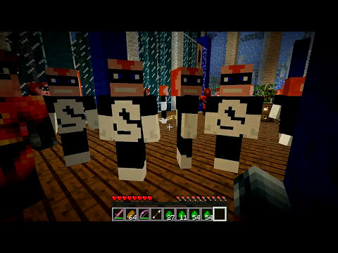 Minecraft Mods - MORPH HIDE AND SEEK - INCRÍVEIS MOD! The Incredibles