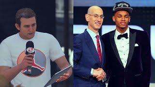 NBA 2K18 MYCAREER - THE NBA DRAFT GAMEPLAY (SKIT)