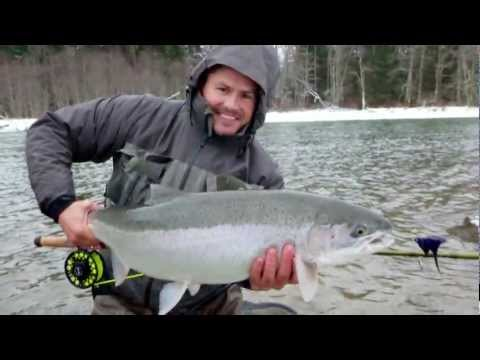 BC Skeena Steelhead Fly Fishing 2012