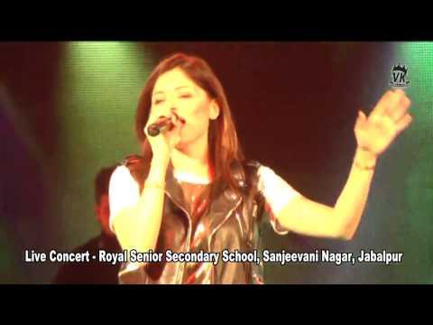 Kanika Kapoor || Live Performance Jabalpur || Chil Gaye nena -  Kanika Kapoor ||  VK VIDEO & STUDIO