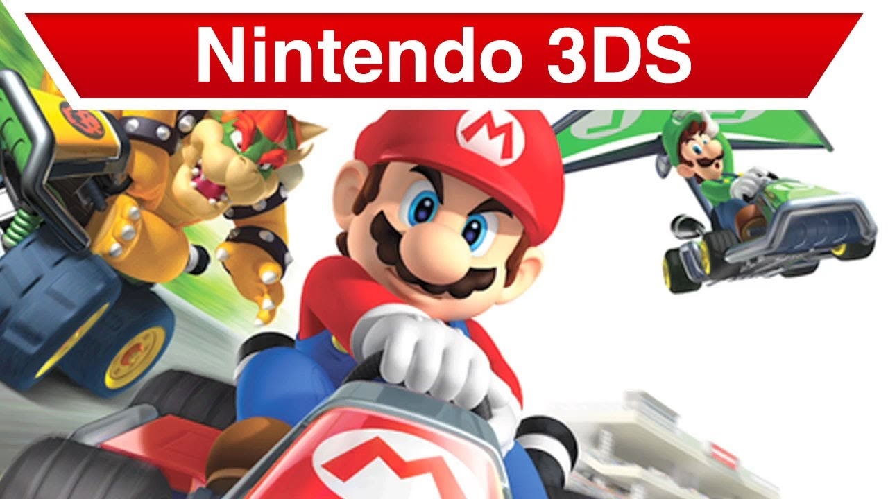 nintendo 3ds mario kart 7 trailer youtube. Black Bedroom Furniture Sets. Home Design Ideas
