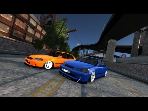 GTA IV - Honda Civic iES + Honda Civic iES 1.6