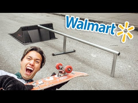"I BOUGHT A ""SKATEPARK"" FROM WALMART!!"