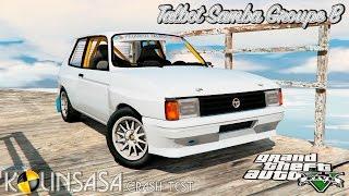 GTA 5 Crash test - Talbot Samba Groupe B