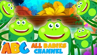 Five Little Speckled Frogs | Nursery Rhymes and Kids Songs | Songs for Children