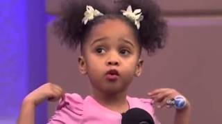 Hey Black Child! Poem recited by 3 year old Pe