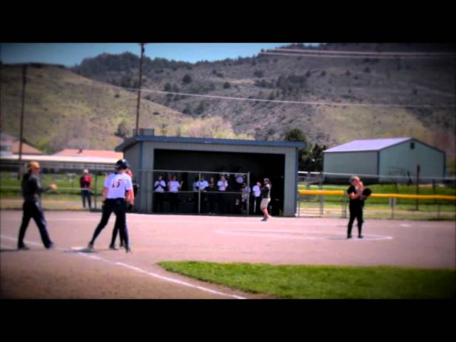 LHS Softball highlights: Rogue River @ Lakeview 4-19-2014