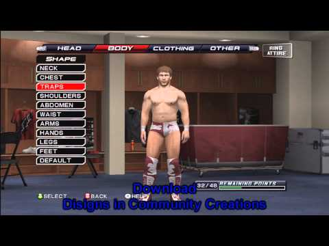 How To Make Daniel Bryan On Smackdown VS Raw 2011 ( Tutorial ) By markus0hyeah