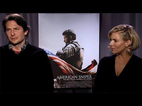 Bradley Cooper & Sienna Miller Talk About American Sniper