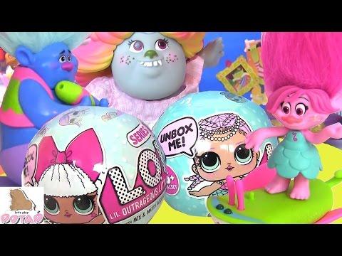 Тролли Trolls ТИХОНЯ - НЯНЬКА! Lol Dolls #Мультик! Сюрприз Игрушки |Мультикидлядетей