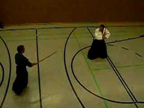 Light Sparring Bokken Image 1